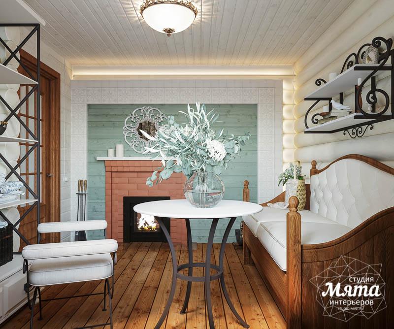 Дизайн интерьера комнаты отдыха в бане с. Косулино img480956588