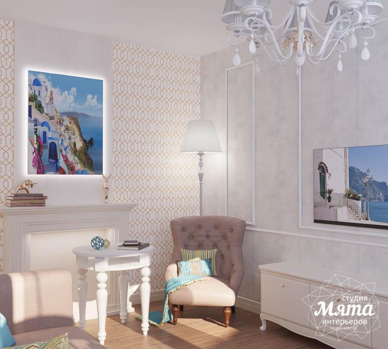 Дизайн интерьера двухкомнатной квартиры по ул. Шаумяна 109 6