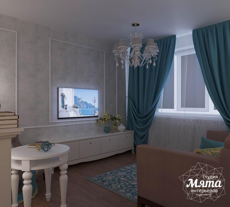 Дизайн интерьера двухкомнатной квартиры по ул. Шаумяна 109 10