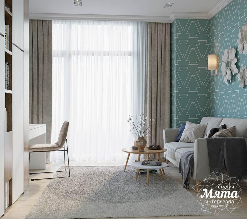 Дизайн интерьера двухкомнатной квартиры в ЖК Чемпион Парк 17