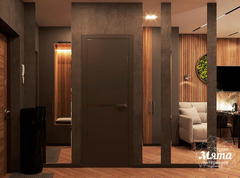 Дизайн интерьера квартиры - студии в ЖК Гринвуд 9