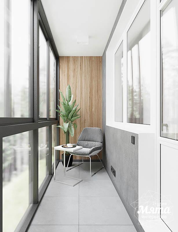Дизайн интерьера квартиры - студии в ЖК Гринвуд 13