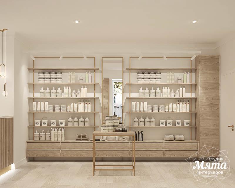 Дизайн интерьера магазина корейской косметики 3