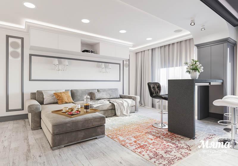 Дизайн интерьера домашнего кинотеатра в коттедже п. Кашино img1573648232