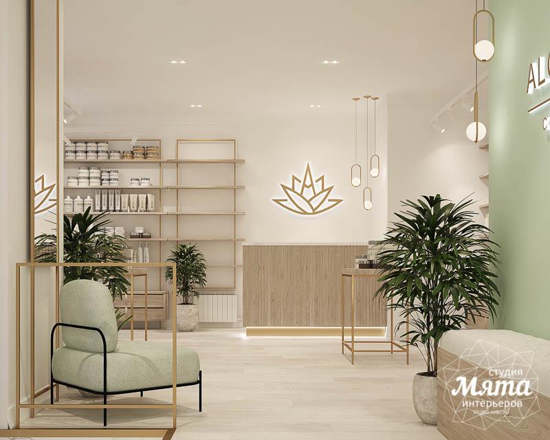Дизайн интерьера магазина корейской косметики 2