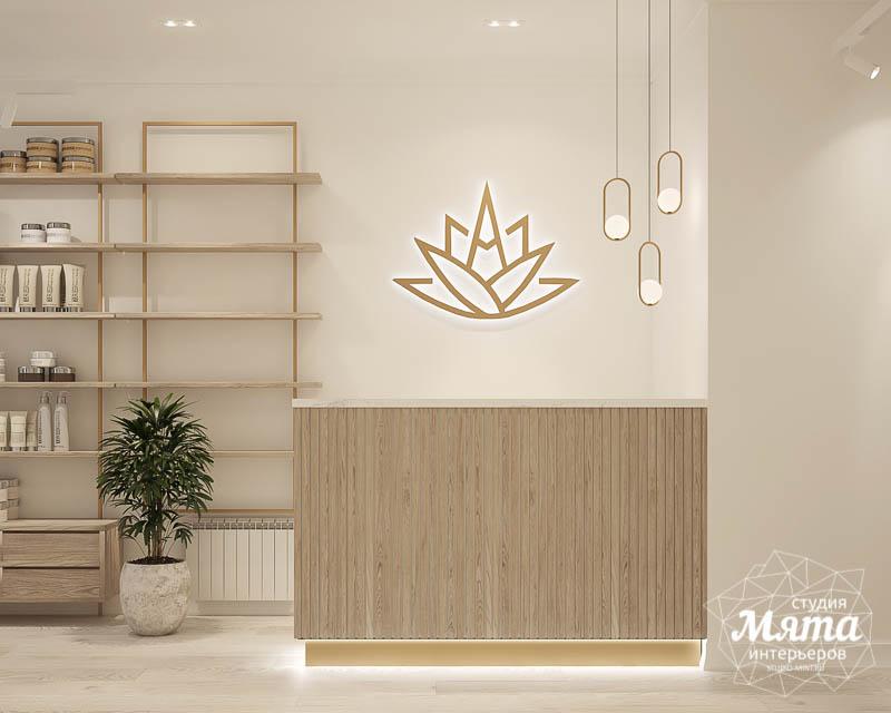 Дизайн интерьера магазина корейской косметики 7