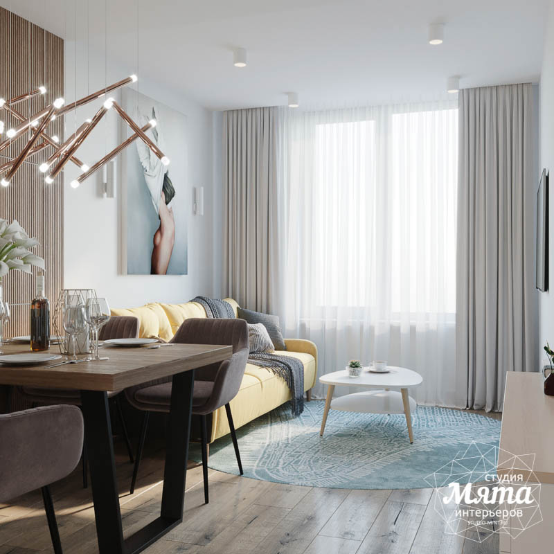 Дизайн интерьера двухкомнатной квартиры в ЖК Репин Парк img1799004856