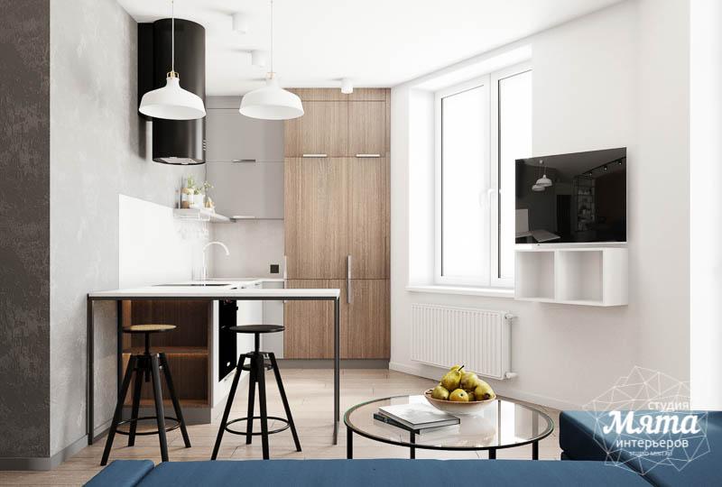 Дизайн интерьера квартиры - студии в ЖК Стрелки img46283316