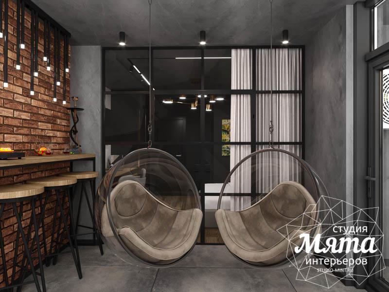 Дизайн интерьера квартиры в стиле лофт img1810084003