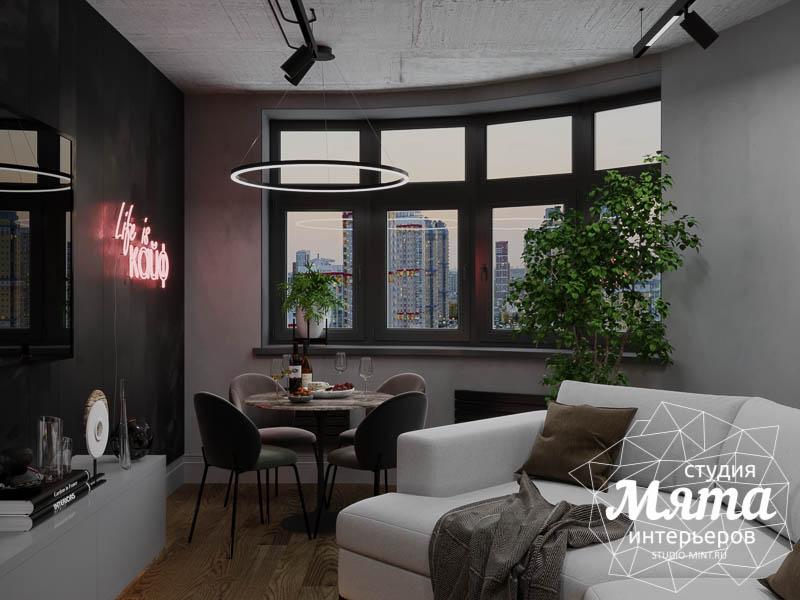 Дизайн интерьера квартиры в стиле лофт img58560547