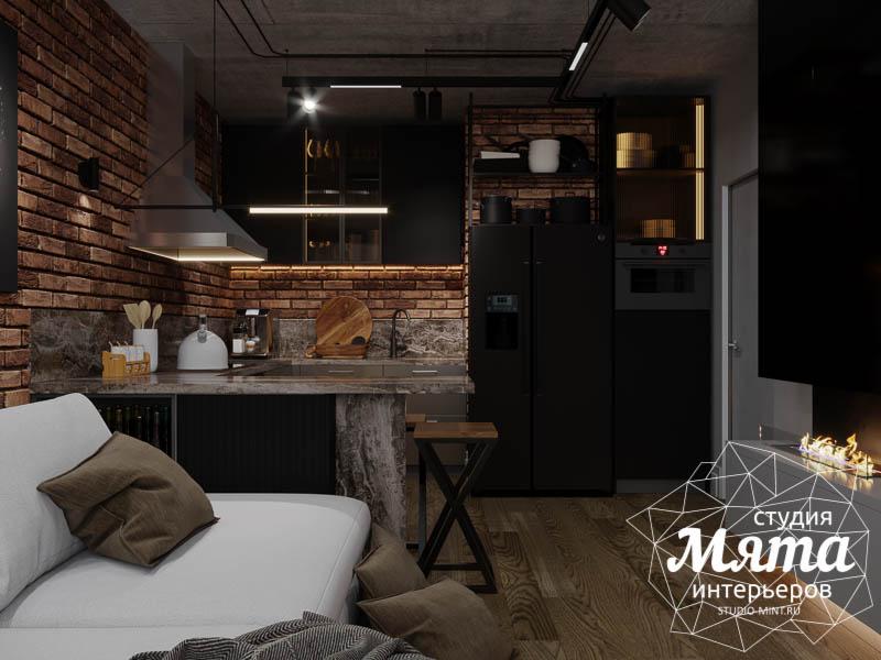 Дизайн интерьера квартиры в стиле лофт img756252497