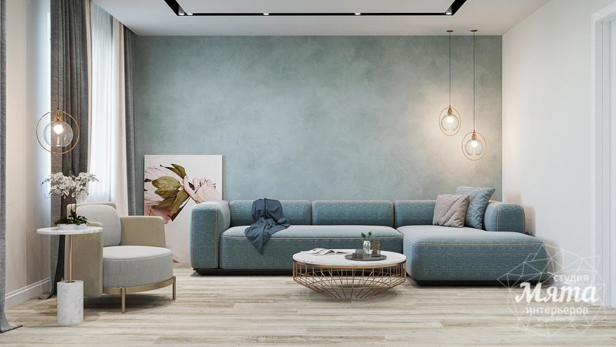 Дизайн интерьера трехкомнатной квартиры в современном стиле, ул. Репина 17а img1872703084