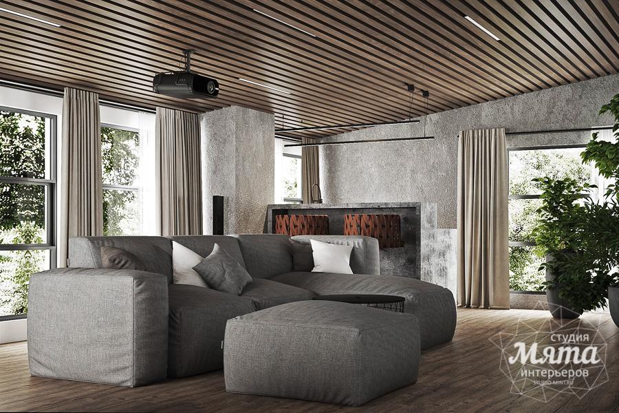 Дизайн интерьера загородного дома КП Заповедник img1353571468
