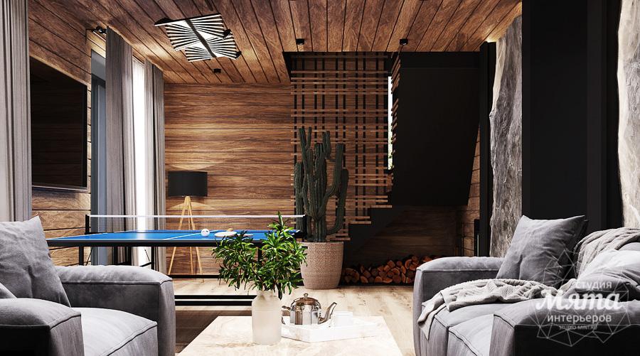 современный дизайн интерьер частного дома