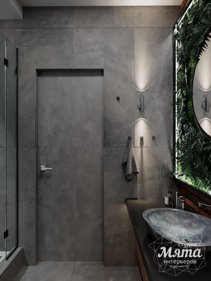 Дизайн интерьера квартиры в стиле лофт ЖК Солнечный Остров img1264515699
