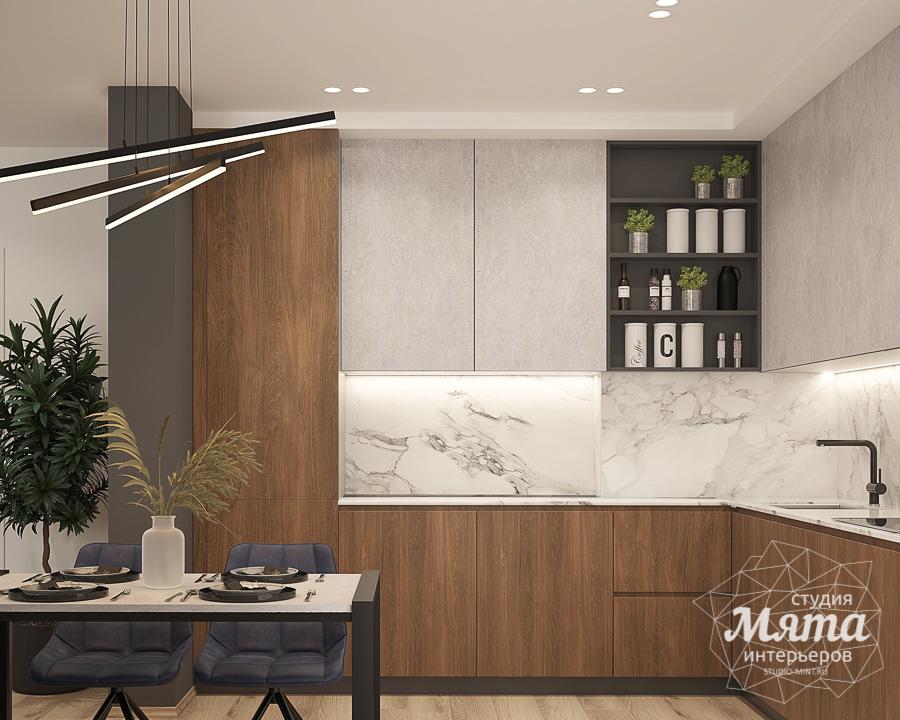 Дизайн интерьера трехкомнатной квартиры ЖК Близкий img83012613
