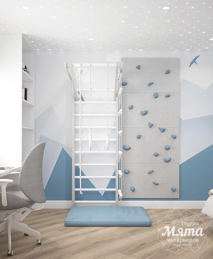 оформление комнаты для мальчика в современном  стиле  фото