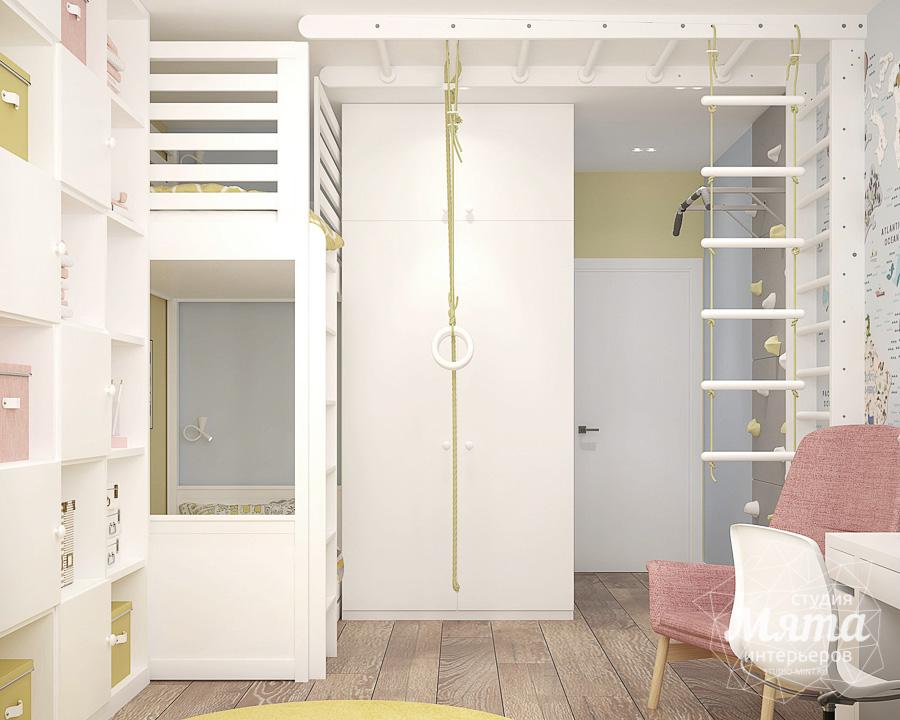 Дизайн интерьера трехкомнатной квартиры ЖК Клевер Парк img2060196880