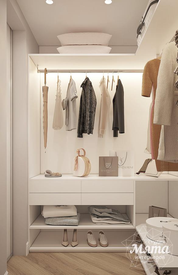 Современная гардеробная комната интерьер