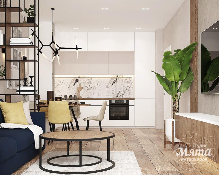 Дизайн интерьера трехкомнатной квартиры ЖК Клевер Парк img2080312611