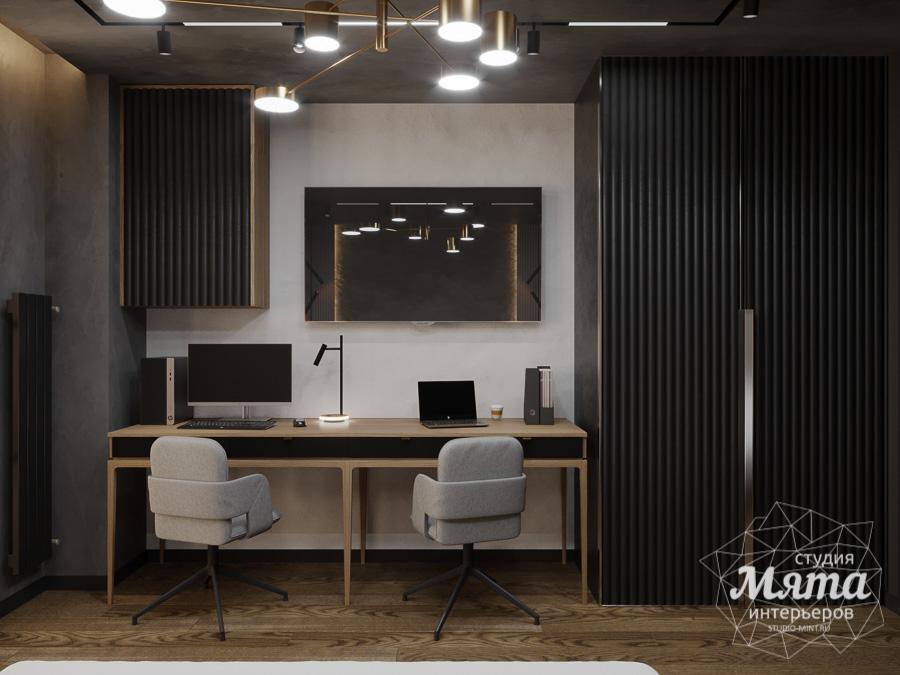 Дизайн интерьера квартиры в стиле лофт ЖК Солнечный Остров img1556127811