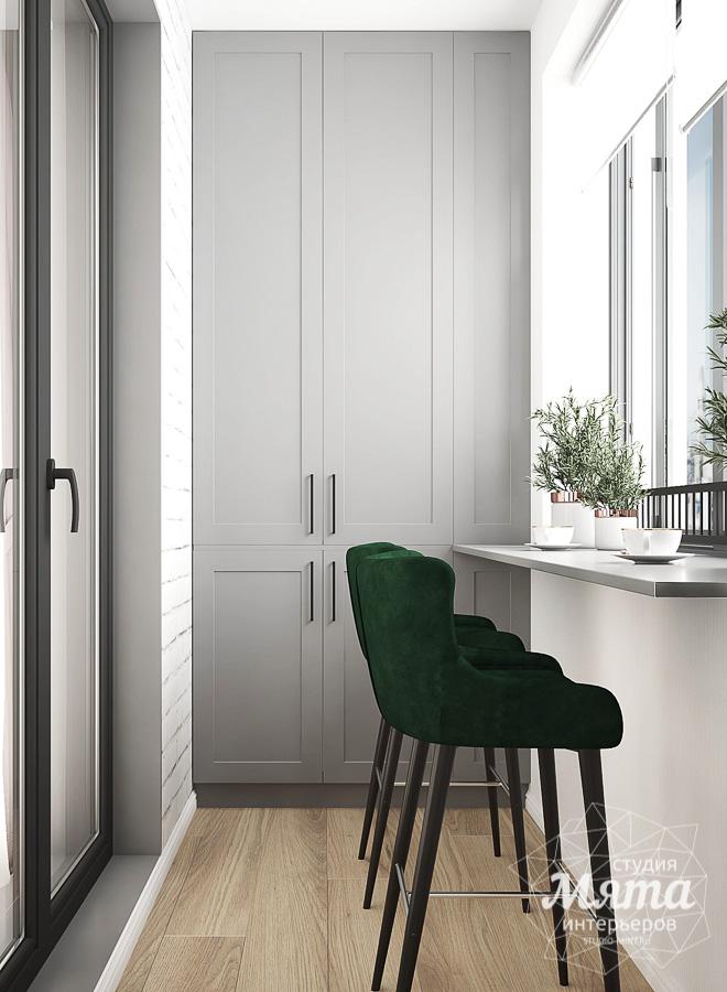 Дизайн интерьера однокомнатной квартиры ЖК Цветной Бульвар img170231834