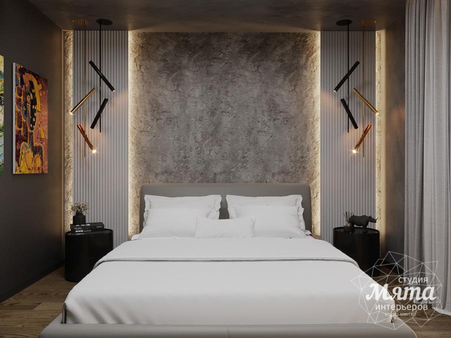 Дизайн интерьера квартиры в стиле лофт, дизайн интерьера спальни, недорогой дизайн спальни, дизайн спальни цена, дизайн интерьера спальни цена, дизайн спальни екатеринбург, Дизайн интерьера квартиры, дизайн-проект спальни, современный интерьер, домашний интерьер спальни