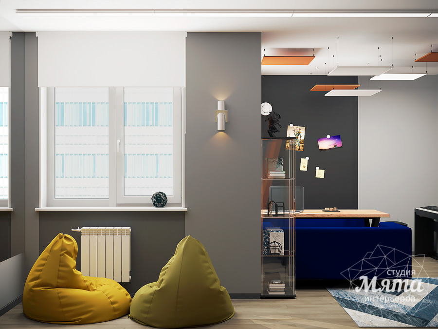 Дизайн интерьера однокомнатной квартиры ЖК Вернисаж img806690278