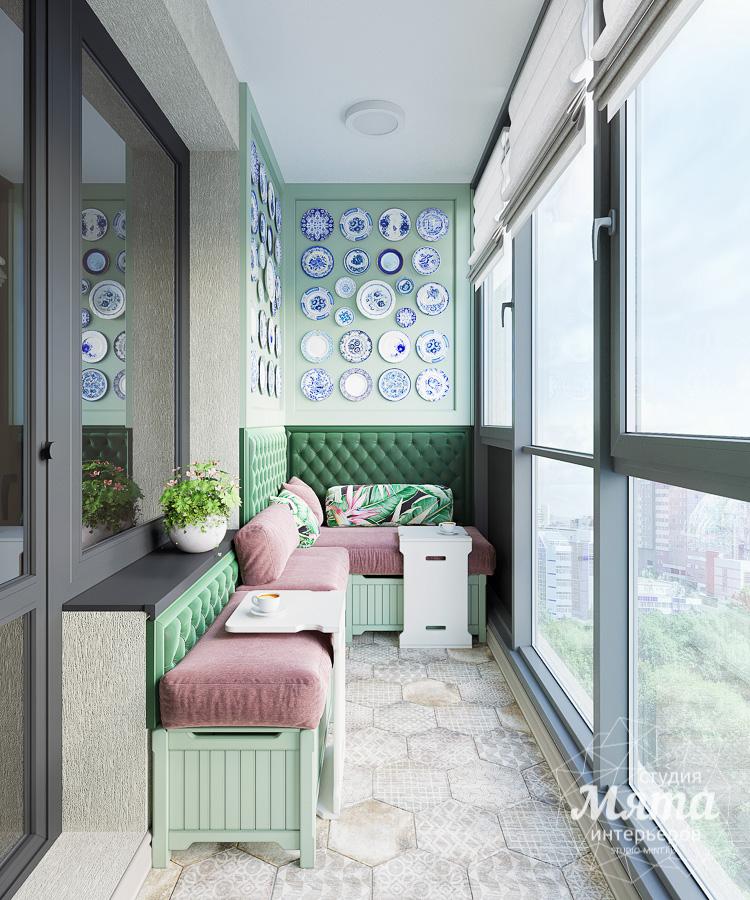 Дизайн интерьера двухкомнатной квартиры ЖК Ольховский парк img442442277