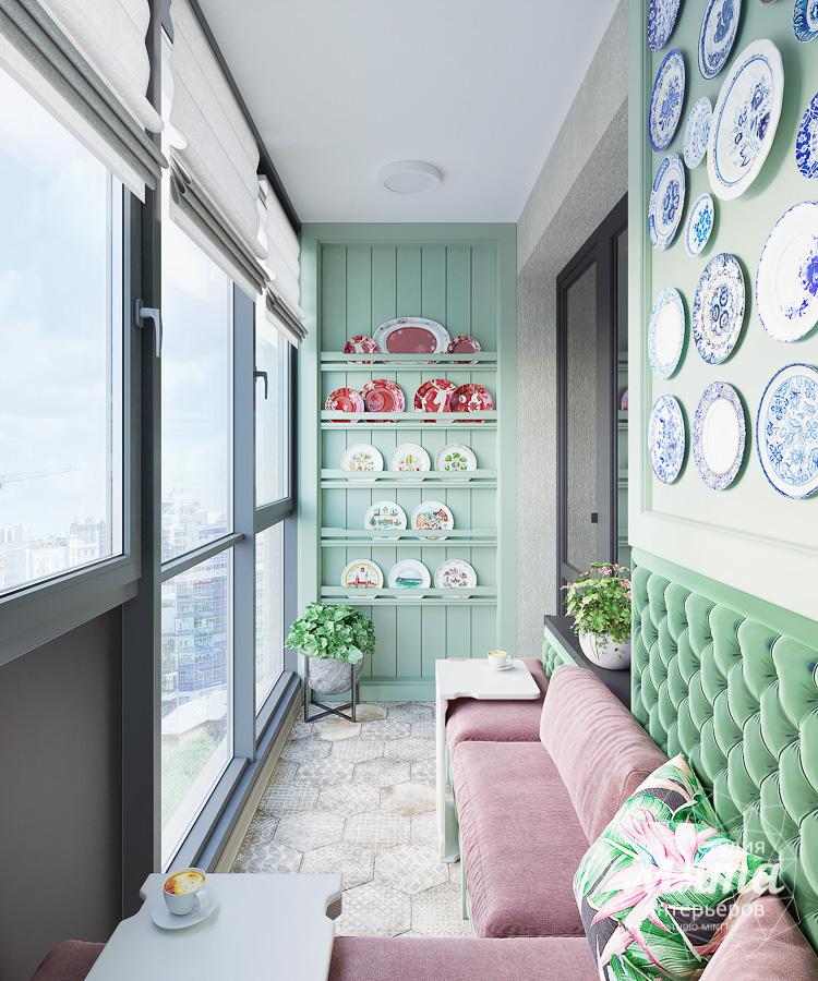 Дизайн интерьера двухкомнатной квартиры ЖК Ольховский парк img969566584