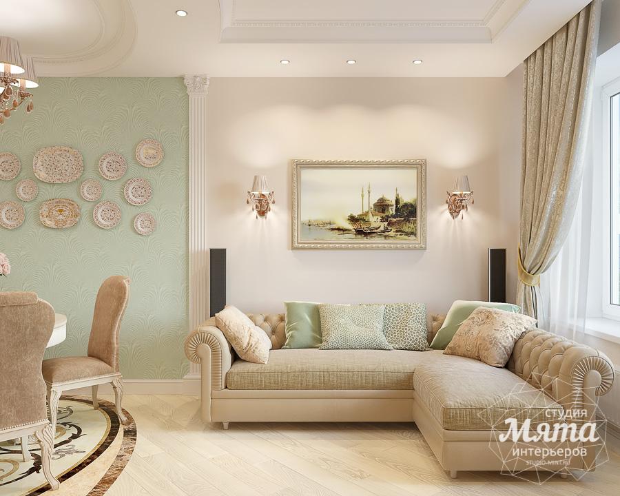 Дизайн интерьера двухкомнатной квартиры ЖК Ольховский парк img1915066830