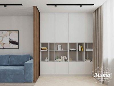 Дизайн интерьера трехкомнатной квартиры в ЖК Дом у пруда ... img2017775599