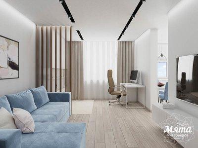 Дизайн интерьера трехкомнатной квартиры в ЖК Дом у пруда ... img576704829