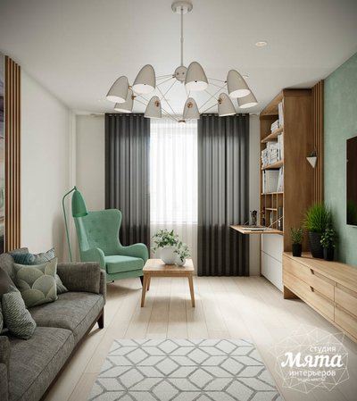 Дизайн интерьера двухкомнатной квартиры в ЖК Лига чемпионов img1035136587