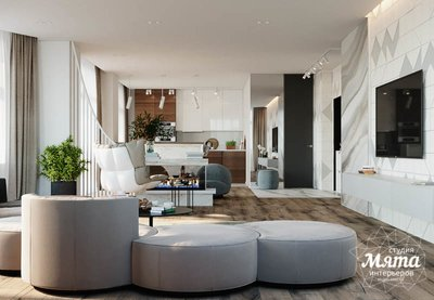 Дизайн интерьера трехкомнатной квартиры в ЖК Чемпион Парк img1697182136