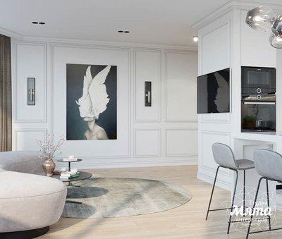Дизайн интерьера двухкомнатной квартиры в ЖК Чемпион Парк img1826707450