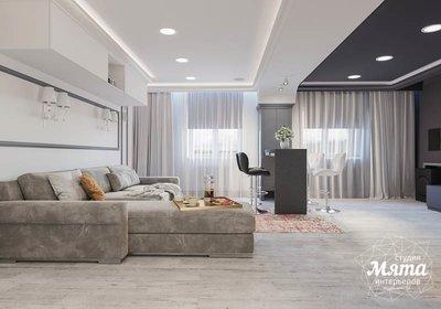 Дизайн интерьера домашнего кинотеатра в коттедже п. Кашино img1213199480