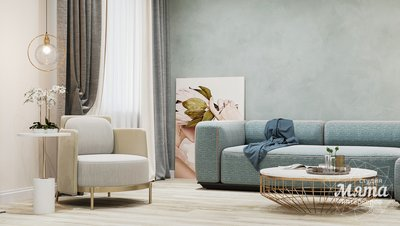 Дизайн интерьера трехкомнатной квартиры в современном стиле, ул. Репина 17а img1784346740
