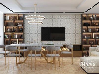 Дизайн интерьера трехкомнатной квартиры в современном стиле, ул. Репина 17а img2004138920