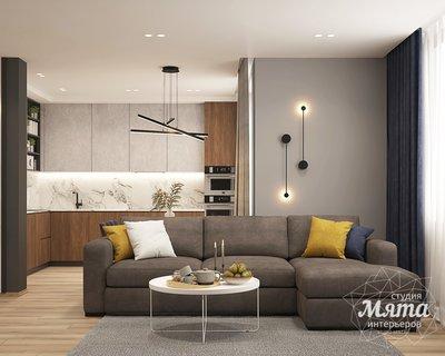 Дизайн интерьера трехкомнатной квартиры ЖК Близкий img1573052609