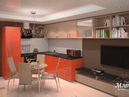Дизайн интерьера однокомнатной квартиры по ул. Электриков 5