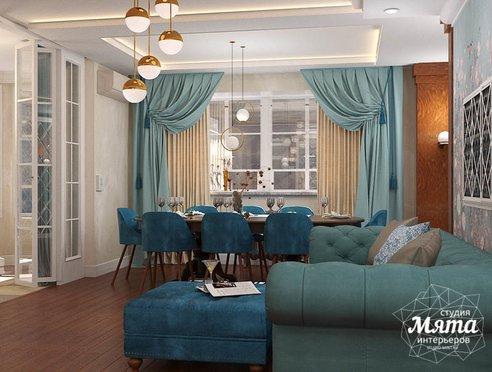 Дизайн интерьера квартиры в стиле современной классики в ЖК Вивальди