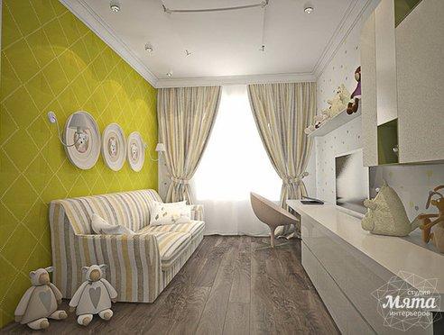 Дизайн интерьера трехкомнатной квартиры по ул. Юмашева 8