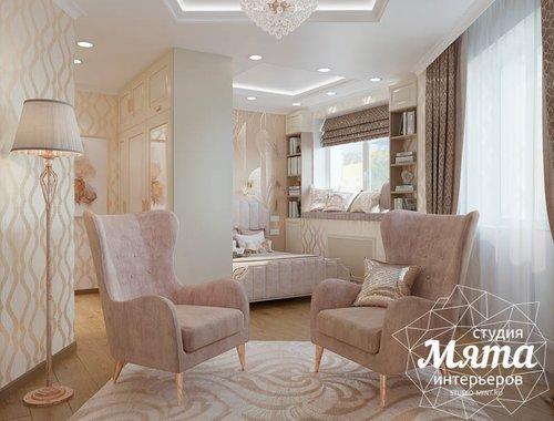 Дизайн интерьера однокомнатной квартиры, ул.Рощинская