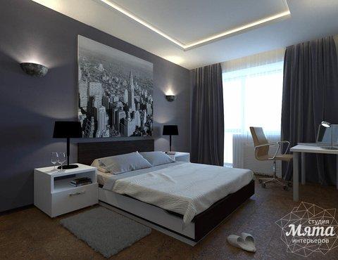 Дизайн интерьера однокомнатной квартиры по ул. 40 лет Октября 11