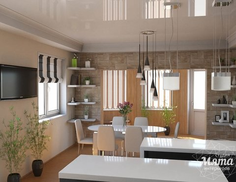 Дизайн интерьера кухни по ул. Восточная 62