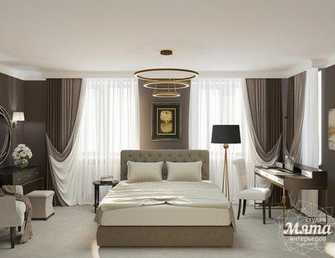 Дизайн интерьера спальни в ЖК Малевич