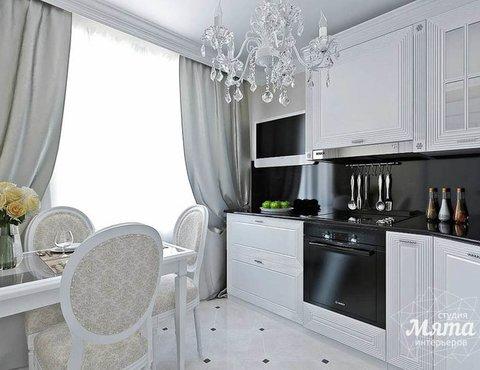 Дизайн интерьера однокомнатной квартиры по ул. Шевченко 19