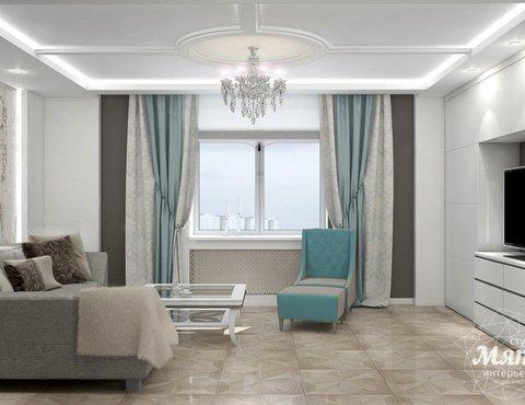 Дизайн интерьера трехкомнатной квартиры по ул. 8 Марта 194