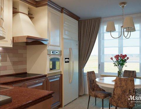 Дизайн интерьера трехкомнатной квартиры по ул. Победы 37